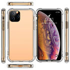 iPhone 11 XE XI Max XI Case Clear Heavy Duty 2019 Shockproof Gel Bumper Cover 1