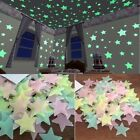 Nautical Home Decor Uk 50/100Pcs Kids Ceiling Wall Stickers Bedroom Glow In The Dark Stars Decoration