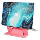 NoteBook Case Coated Laptop Cover Shell Colors With Free Pink/Black Stand B0R0