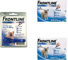 Frontline Spot On Flea, Lice Treatment Pipettes For Medium Size Dogs 10 - 20kg