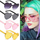 Внешний вид - Women Fashion Candy Color Love Cute Heart Shape Plastic Frame Outdoor Sunglasses