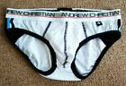 NWD Black / White Cotton / Mesh Briefs New With Defects