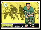 1968-69 Topps Hockey - - Pick Your Card - - Each Card Scanned Front & BackIce Hockey Cards - 216
