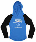 OuterStuff NFL Youth Girls Long Sleeve Hooded Shirt, Detroit Lions $17.5 USD on eBay