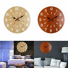 Europe Retr Large Wall Clock Watch Hanging Circle Sticker Home Office Room Decor