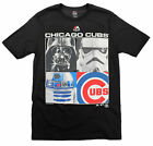 MLB Youth Chicago Cubs Star Wars Main Character T-Shirt, Black $9.99 USD on eBay