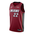 Miami Heat - Jimmy Butler #22 Nike Sponsor Patch Logo Swingman Jersey Statement on eBay