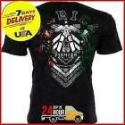 AMERICAN FIGHTER TShirt KENDLETON MEXICO COLORS Biker Gym UFC REPRINT SHIRT image
