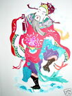 Chinese Paper Cuts Character of 8 Immortals # 3 Large Single colorful piece