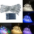 20|30|50|80 Led Battery Operated Fairy Lights Christmas Wedding Party Home Decor