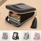 Women Short Small Money Purse Wallet Ladies Leather Folding Coin Card Holder image