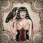 Black Widow by Sara Ray Rolled Canvas or Paper Wall Art Print