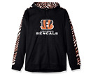 Zubaz Men's NFL Cincinnati Bengals Pullover Hoodie With Zebra Accents $34.95 USD on eBay