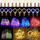 20 Led Wine Bottle String Lights Battery Operated For Home Decoration Metallic