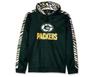 Zubaz Men's NFL Green Bay Packers Pullover Hoodie With Zebra Accents $39.99 USD on eBay