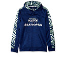Zubaz Men's NFL Seattle Seahawks Pullover Hoodie With Zebra Accents $39.99 USD on eBay