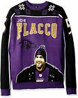 KLEW NFL Men's Baltimore Ravens Joe Flacco #5 Ugly Sweater $29.99 USD on eBay