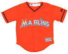 Majestic Miami Marlins MLB Boys Toddler Cool Base Replica Jersey, Orange on Ebay
