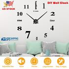 DIY Wall Clock Decorative Hanging Watch Modern Art Wall Clock Home Office Decor