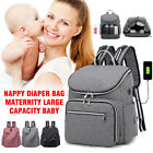 Mummy Nappy Diaper Bag Maternity Large Capacity Baby Care Nursing Backpack