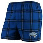 Concepts Sport Orlando Magic Royal Homestretch Flannel Boxer Shorts on eBay