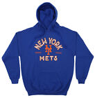 Zubaz MLB Men's New York Mets Arched Logo Fleece Pullover Hoodie on Ebay