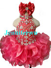 Infant/toddler/kids/baby/Girl's Pageant/prom/formal Dress 284