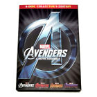 Marvel DVD [You Pick] Avengers Captain America Thor Iron Man Guardians Ant-Man