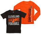 NFL Youth Cleveland Browns Fan Two Piece Performance T-Shirt Combo Set $29.99 USD on eBay