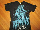 ALL THAT REMAINS T SHIRT For We Are Many Band Concert Tour Adult MEDIUM