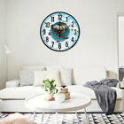 Large Silent 3D Earth Wall Clock Display Indoor Kitchen Hanging Home Decor hot