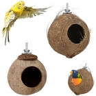 Kyпить US Natural Coconut Shell Bird House Nest Hut Cage Feeder Pet Parrot Birds Toys на еВаy.соm