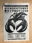UNDERTONES HYPNOTISED POSTER SIZED original music press advert from 1980 with to