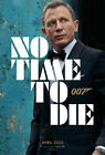 J-73 James Bond No Time To Die 007 Movie Fabric Canvas Poster 24x36 14x21 $13.44 CAD on eBay