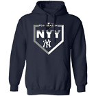 New York Yankees Navy 2019 Postseason Pullover Hoodie Women Men on Ebay