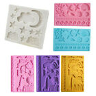 Silicone Fondant Cake Mold Mould Chocolate Baking Sugar Craft Candy Decor Tools