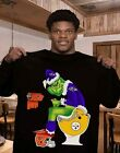 Grinch NFL Official Team Football Baltimore Ravens T-Shirt Women Men Gift M-3XL $28.98 USD on eBay