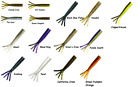 """Z-Man 2 3/4"""" Finesse TRD TicklerZ Ned Rig Creature Bait - Choice of Colors"""