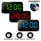 Hot Large Digital LED Display Alarm Clock Snooze Desktop Table Clocks Watch