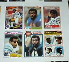 CHUCK MUNCIE Chargers / Saints 6 Card Assorted Lot **You Pick** $5.5 USD on eBay