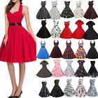 Kyпить Damen Rockabilly Kleid 50er Swing Petticoat Vintage Hepburn Party Tanzkleider на еВаy.соm