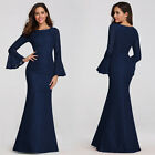 US Ever-Pretty Elegant Lace Long Formal Evening Party Dress Mermaid Wedding Gown
