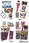 Butterfly Gift Easter Basket Set Poster Tattoos Wall Decal Stickers Party Favors