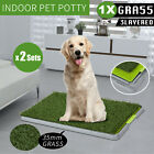 【20%OFF $12+】Indoor Dog Pet Potty Training Portable Toilet Large Loo Pad Glass