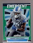 2019 Panini Prizm Green Prizms SP w/ Rookie RC - You Pick From A List