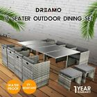 【20%OFF $503+】9/11/13PC Outdoor Dining Furniture Set Wicker Garden Table&Chairs