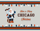 CHICAGO BEARS Style CHRISTMAS Photo Picture SANTA CLAUS FAN PRINT 8x10 or 11x14 $6.95 USD on eBay