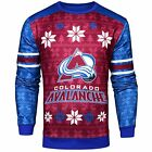 Forever Collectibles NHL Men's Colorado Avalanche Printed Ugly Sweater $44.95 USD on eBay
