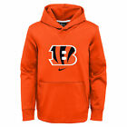 Nike NFL Football Youth Cincinnati Bengals Circuit Logo Pullover Hoodie $54.99 USD on eBay