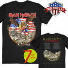 Iron Maiden Legacy of the Beast 2019 Tour USA T-shirt Black Size S-6XL Best Gift image